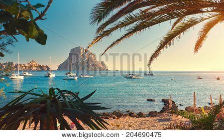 Cala dHort beach