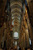picture of koln  - This photograph represents the Interior of High Cathedral of Sts - JPG