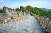 stock photo of qin dynasty  - The Great Wall of China  - JPG