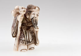 foto of obeah  - statuette of Chinese god of wealth  - JPG