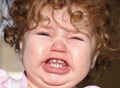 stock photo of fussy  - Close up of a toddler - JPG