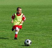 Постер, плакат: Футбол мальчик