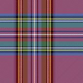 Tartan Plaid. Scottish Pattern In Black, Green And Purpure Cage. Scottish Cage. Traditional Scottish poster