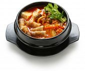 picture of pot-bellied  - kimchi stew - JPG