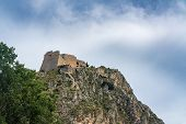 Hilltop Fortress Of Palamidi Above The City Of Nafplio In Greece poster