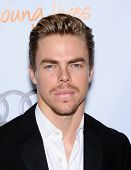 LOS ANGELES - DEC 02:  Derek Hough arrives to Trevor Project Honors Katy Perry  on December 02, 2012