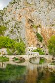 Dervish monastery in Blagaj, Bosnia and Herzegovina