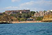 foto of vilamoura  - Beach Aveiros Albufeira Algarve Portugal summer sea - JPG