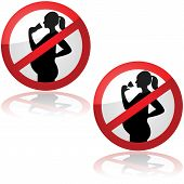 No Drinks For Pregnant Women