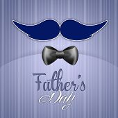 Father's Day With Mustache