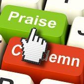 stock photo of appreciation  - Appreciate Praise Computer Meaning Appreciating or Great - JPG