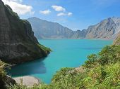 foto of luzon  - Soaking in the gorgeous view of all that Pinatubo and her crater lake have to offer in Luzon - JPG