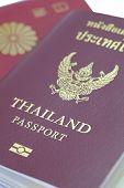foto of passport cover  - Close  - JPG