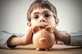 picture of piggy  - Piggy bank - JPG