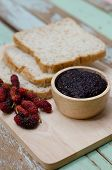 picture of home-made bread  - breakfast  - JPG