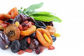 picture of dry fruit  - Assorted dried fruits  - JPG