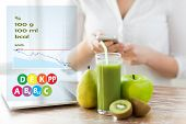 picture of fruit-juice  - healthy eating - JPG