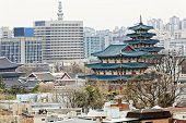 image of palace  - Gyeongbokgung - JPG
