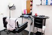 image of beauty salon interior  - interior of a beauty salon - JPG