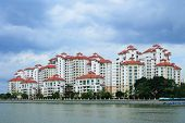 pic of public housing  - Typical public housing in Singapore - JPG