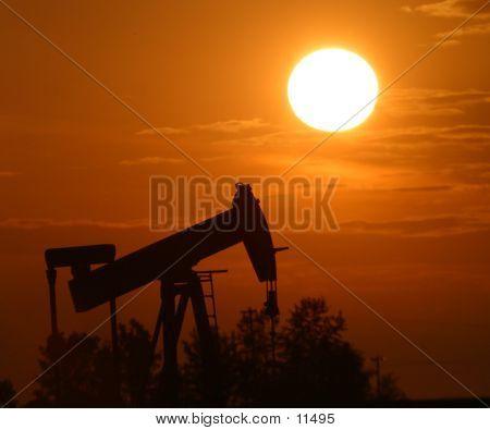 Oil Pump Jack poster