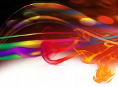 picture of mardi-gras  - Abstract colorful background for parties and other occasions - JPG