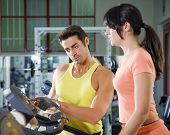 foto of personal trainer  - health club - JPG