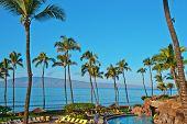 Постер, плакат: Отель Beach в Мауи Гавайи