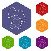 Soft Toy Icon. Outline Illustration Of Soft Toy Vector Icon For Web Design poster