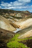 Landmannalaugar Colored Rainbow Mountains, Iceland