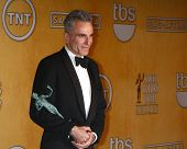 LOS ANGELES - JAN 27:  Daniel Day-Lewis pose in the press room at the 2013 Screen Actor's Guild Awar