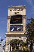 Mandalay Bay Sign In Las Vegas, Nv On April 19, 2013