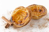 picture of pasteis  - Pasteis de nata typical pastry from Lisbon  - JPG