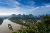 Beautiful Karst Landform And Lijiang River