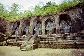image of gunung  - Gunung kawi temple in Bali island - JPG