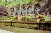 stock photo of gunung  - Gunung kawi temple in Bali island, Indonesia