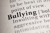 foto of bullying  - Fake Dictionary Dictionary definition of the word Bullying - JPG