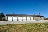 picture of fire-station  - New Commercial Metal Building to be utilized as a New Fire Station - JPG