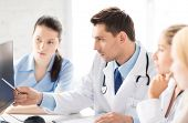 picture of medicare  - healthcare and medicine concept  - JPG