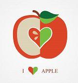 pic of love bite  - I Love Apple - JPG