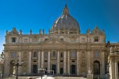 St. Peter Basilica In Vatican City In Rome, Italy