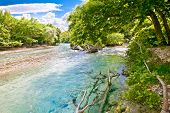 picture of hade  - Landscape and Acheron river in Greece - JPG
