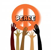 image of woodstock  - Peace sign with hands  - JPG