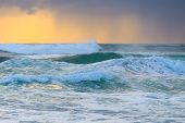 picture of rough-water  - Rough water of Pacific Ocean  - JPG