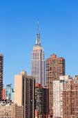 picture of empire state building  - Empire State Building in Manhattan New York City USA - JPG
