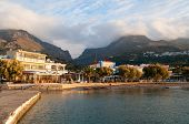 picture of greek  - Plakias is a village on the south coast of the Greek island of Crete - JPG