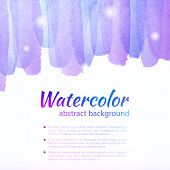foto of  art  - Watercolor Colorful Background - JPG