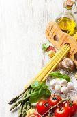 foto of peppercorns  - Italian food background - JPG