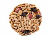 stock photo of sunflower-seeds  - Candied roasted peanuts sunflower seeds - JPG