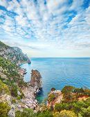 picture of crimea  - Rocky beach of Crimea - JPG